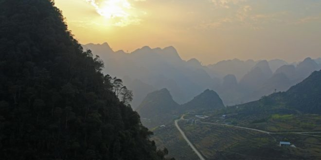 Am Ma Pi Leng Pass in Vietnam