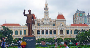 Rathaus in Saigon in Vietnam